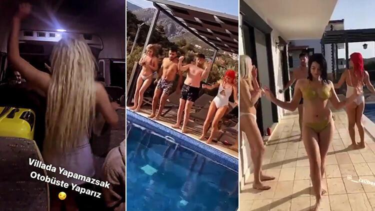 Villada skandal görüntüler... Ceza yağdı