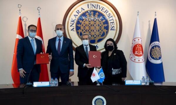 Adalet Bakanlığı ile Ankara Üniversitesi arasında kadına yönelik şiddetle mücadelede iş birliği protokolü imzalandı