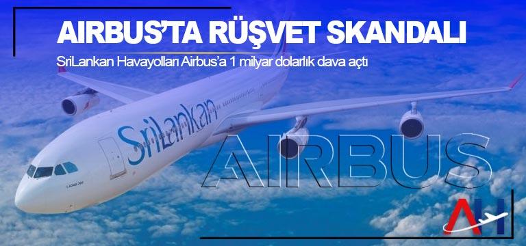 Airbus'ta rüşvet skandalı