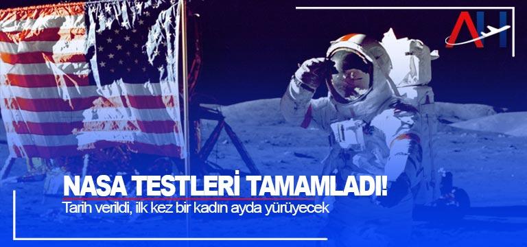 NASA testleri tamamladı! Tarih verildi, ilk kez bir kadın ayda yürüyecek