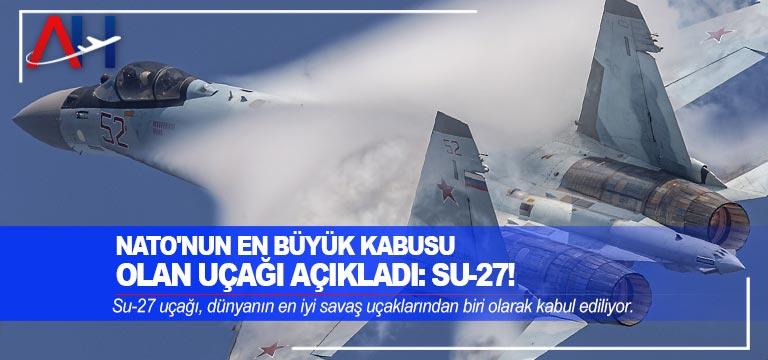 NATO'nun en büyük kabusu olan uçağı açıkladı: Su-27!