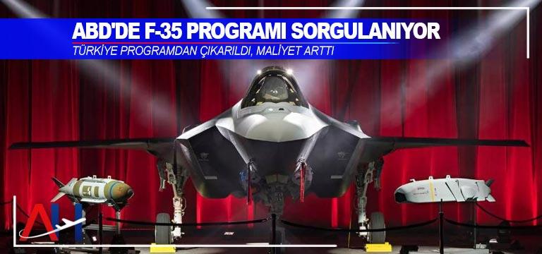 Türkiye F-35 savaş uçağı programından çıkarıldı, maliyet arttı