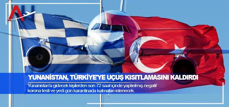 Yunanistan, Türkiye'ye uçuş kısıtlamasını kaldırdı
