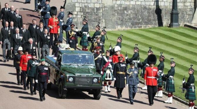 Prens Philip için cenaze töreni