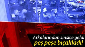 Beşiktaşta vahşet 3 kişiyi birden peş peşe bıçakladı