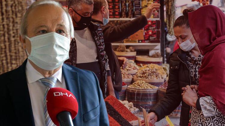 'Pazar günü markete girdim, insanlar içeride kum gibi' diyen Bilim Kurulu üyesi Prof. Dr. Levent Akın tarih verdi