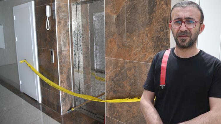 Diyarbakır'da korkunç olay! Asansör 11. kattan yere çakıldı... Korumak için oğluna sarılan babanın durumu ağır
