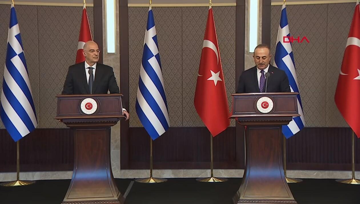 Son dakika haberi: Yunan Dışişleri Bakanı Ankara'da! Bakan Çavuşoğlu'ndan önemli açıklamalar