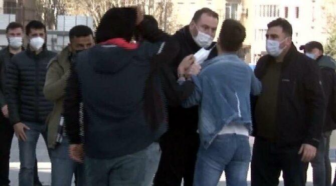 Taksim'de seyyar satıcıya tokat atan zabıtaya soruşturma