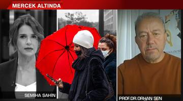 Prof. Dr. Orhan Şenden canlı yayında dolu yağışı uyarısı