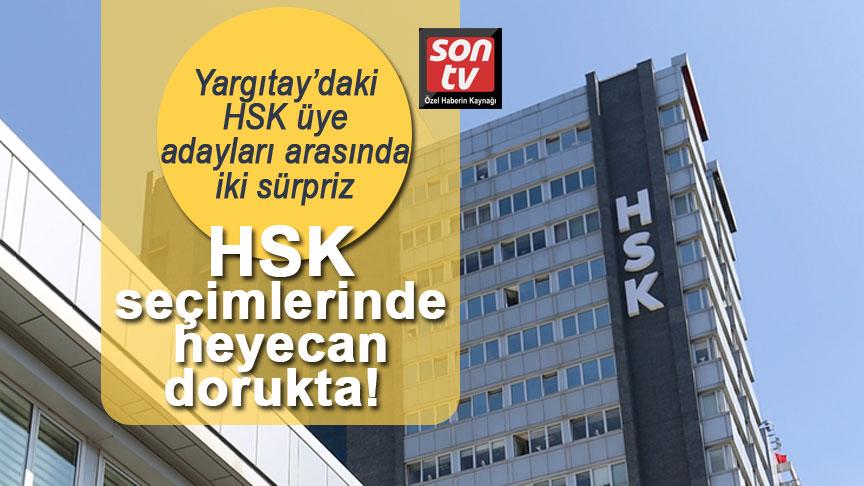 HSK seçimlerinde heyecan dorukta! Yargıtay'daki HSK üye adayları arasında iki sürpriz | SON TV