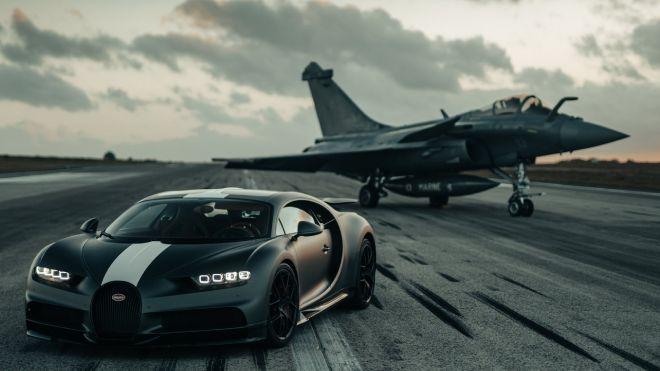 bugatti chiron sport jet fighter 1