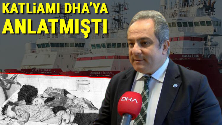 Katliamı DHA'ya anlatmıştı... Bilim Kurulu Üyesi Prof. Dr. Mustafa Necmi İlhan'ı duygulandıran jest