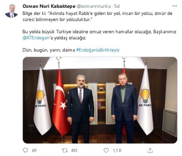 Twitterda binlerce tweet atıldı #ErdoğanlaBirlikteyiz