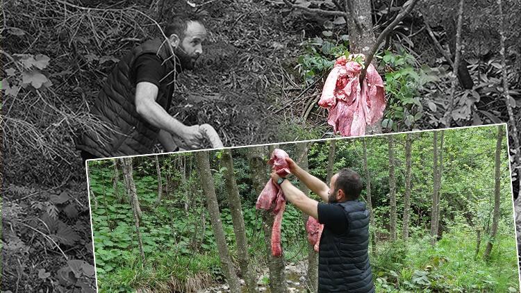 Trabzon'da şaşırtan manzara! Çareyi böyle buldular