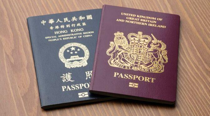 34.000'den fazla Hong Konglu, İngiltere'ye gitmek için başvuru yaptı