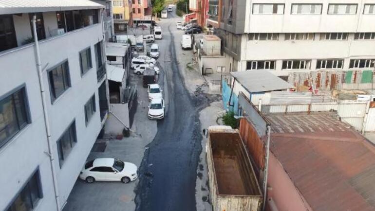 İstanbul Esenyurtu mavi su bastı İş yerleri çalışamaz hale geldi, sokak köpekleri öldü