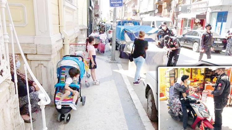 Kapanmaya sıkı denetim: Markete çocukla gitme cezası