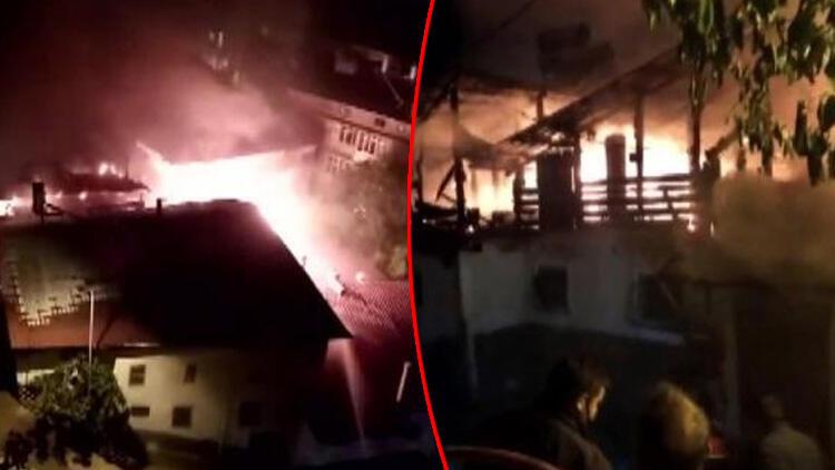 Karaman'ın Ermenek ilçesinden çok acı haber! Bayram günü evsiz kaldılar