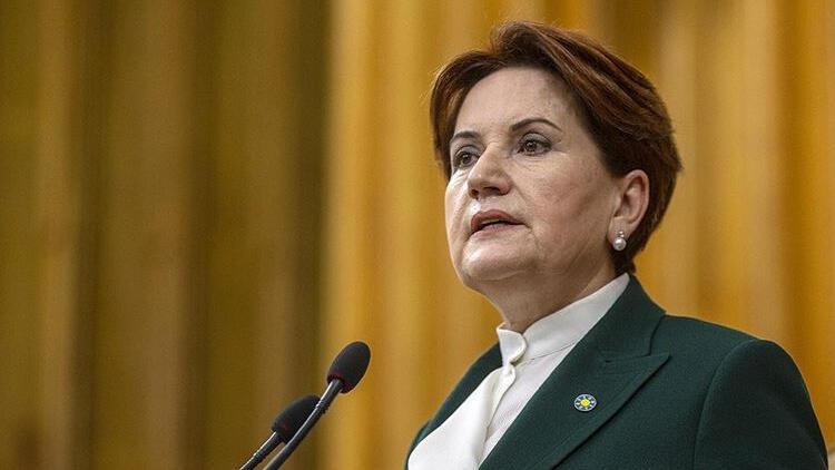 Son dakika... İYİ Parti Genel Başkanı Meral Akşener'e art arda tepkiler