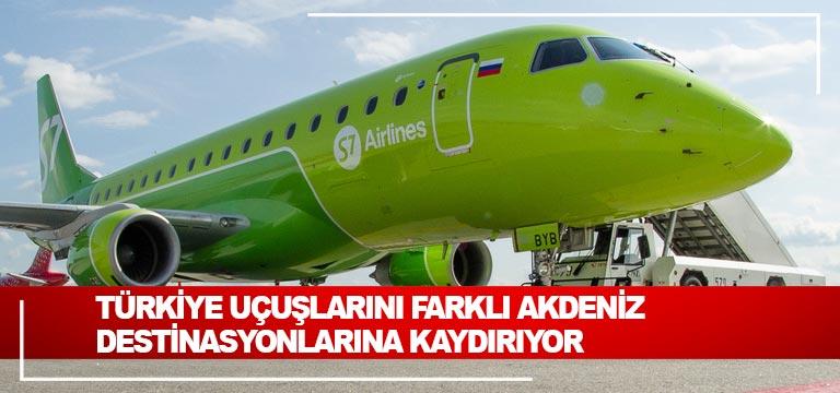 Türkiye uçuşlarını farklı Akdeniz destinasyonlarına kaydırıyor