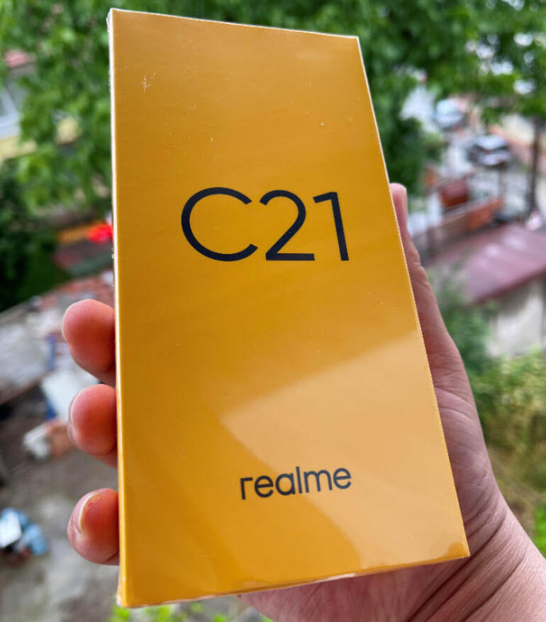 Realme C21 incelemesi