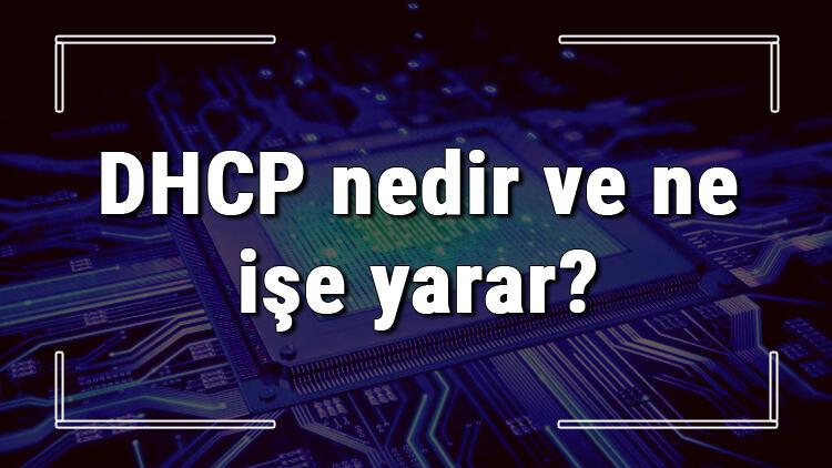 DHCP nedir ve ne işe yarar? DHCP sunucusu nasıl çalışır