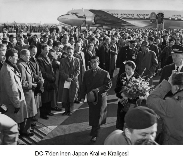 JAPONYA KRAL VE KRALICESI DC 7