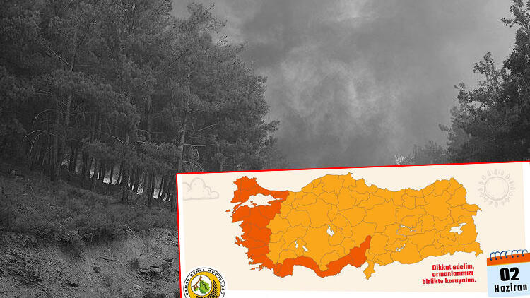 Ege ve Akdeniz için kırmızı alarm