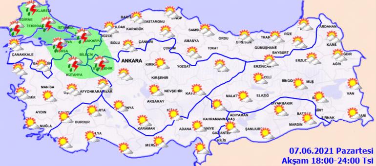 Son dakika... Bugün hava nasıl olacak İstanbul ve çok sayıda kente yağış uyarısı
