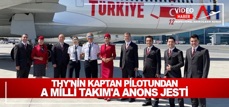 TÜRK HAVA YOLLARI'NDAN A MİLLİ TAKIMA ÖZEL JEST