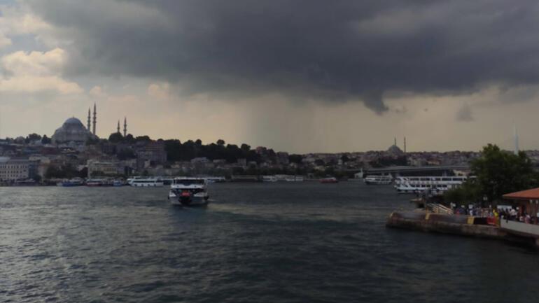 Son dakika... İstanbulda gök gürültülü sağanak yağmur Meteorolojiden yeni uyarı