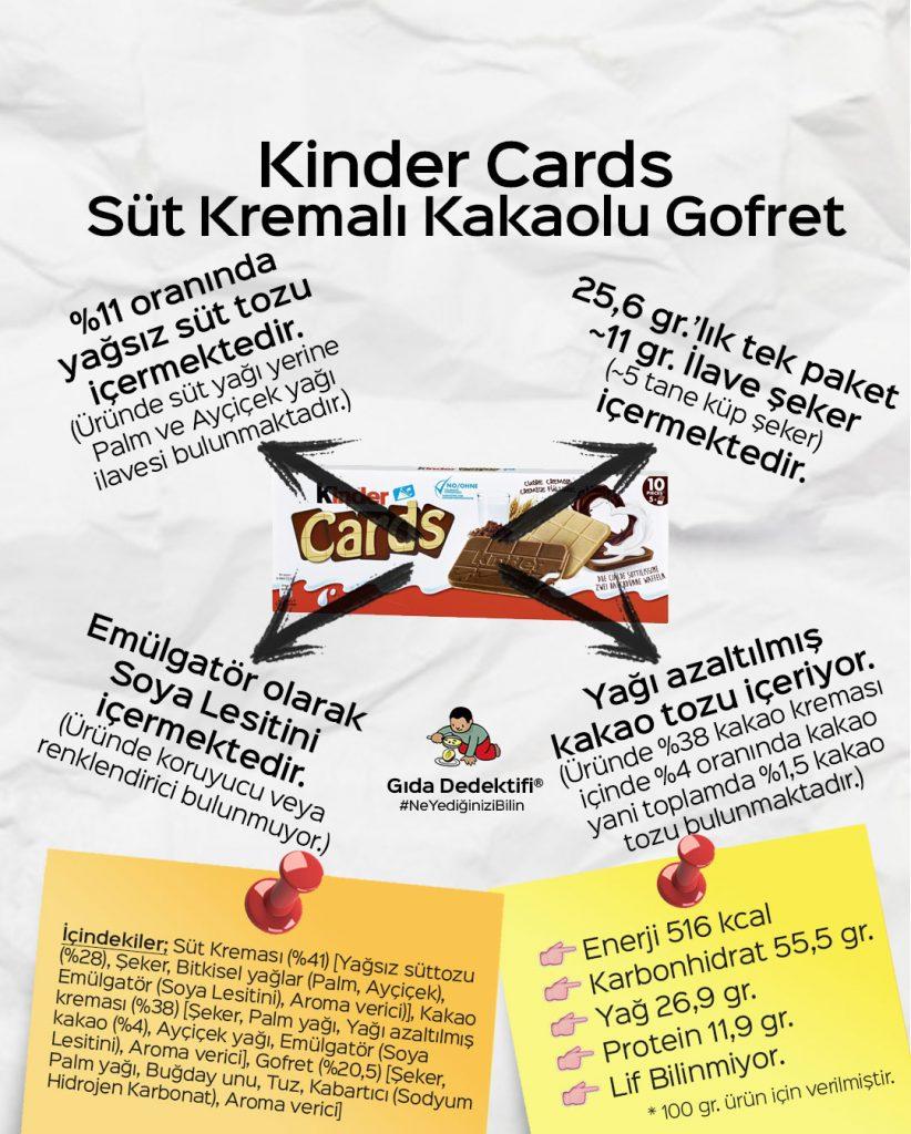 Kinder Cards - Gıda Dedektifi