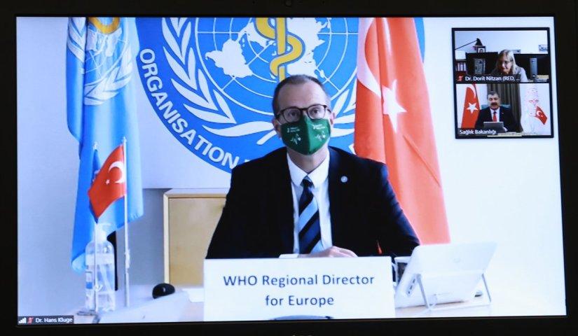 Bakan Koca'dan DSÖ'ye: Halk sağlığı açısından çok tehlikeli bir dönemden geçiyoruz