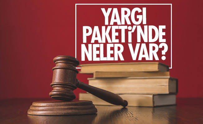 İşte 4. Yargı Paketi Kanun Teklifi   SON TV