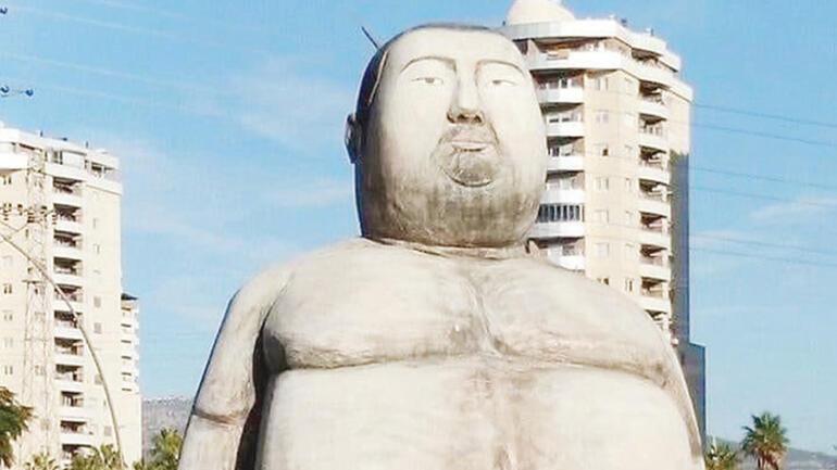 Sanat değil heykel komedisi Yapanlar bile sonuçtan mutsuz...