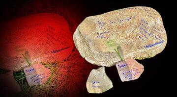 Taştaki tecavüz ediliyorum yazısı infial yaratmıştı Flaş gelişme