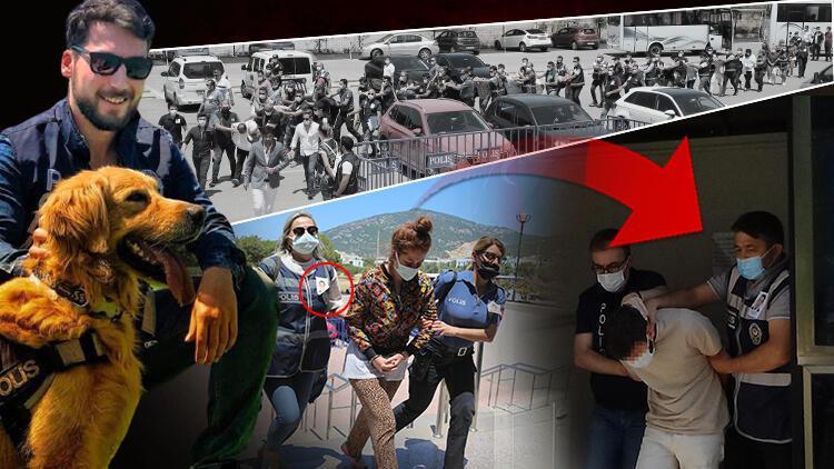 Bodrum'da polisin şehit edilmesinde 19 gözaltı! Mesai arkadaşlarından anlamlı hareket