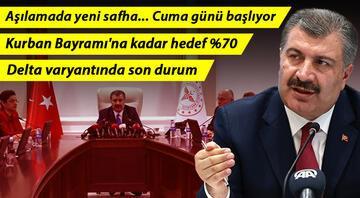 Sağlık Bakanı Fahrettin Kocadan önemli açıklamalar Yarın başlıyor..