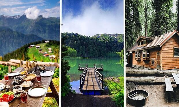 Hem uygun, hem sakin...  5 bölge ve 14 şehirden harika 22 yayla tatili...
