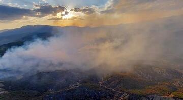 Bingölde 3 gündür devam eden yangına müdahale ediliyor