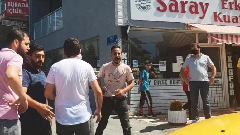 Bursada dehşet anları DHA muhabirleri genç kadını kurtardı