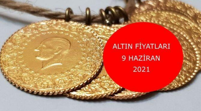 Altın fiyatları bugün ne kadar? Gram altın, çeyrek altın kaç TL? 9 Haziran 2021