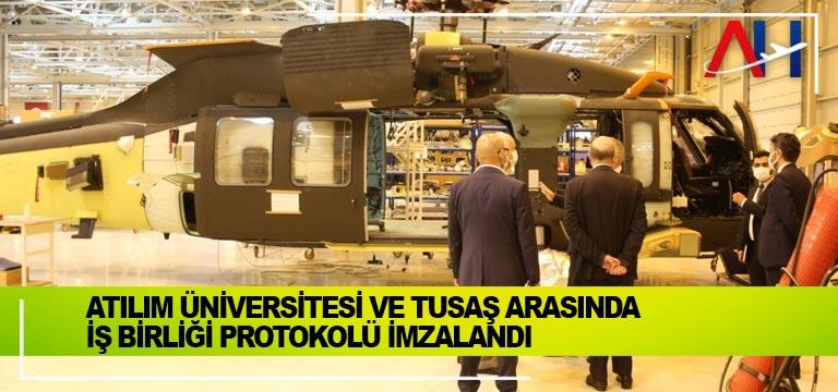Atılım Üniversitesi ve TUSAŞ arasında iş birliği protokolü imzalandı