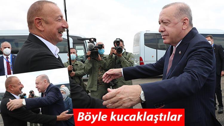 Cumhurbaşkanı Erdoğan, Azerbaycan'da Şuşa'yı ziyaret etti