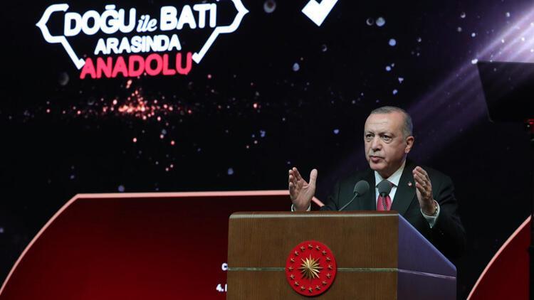 Cumhurbaşkanı Erdoğan, Cengiz Aytmatov Uluslararası 4. Issık-Göl Forumu'nda konuştu