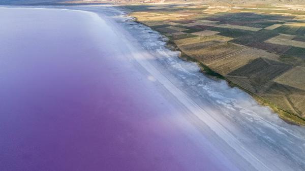 Endişendiren haber! Tuz Gölü küçülüyor, 1 km'lik çekilme var