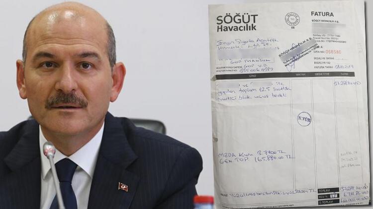 İçişleri'nden Bakan Soylu'nun SBK Holding'in uçağını kullandığı iddiasına ilişkin açıklama