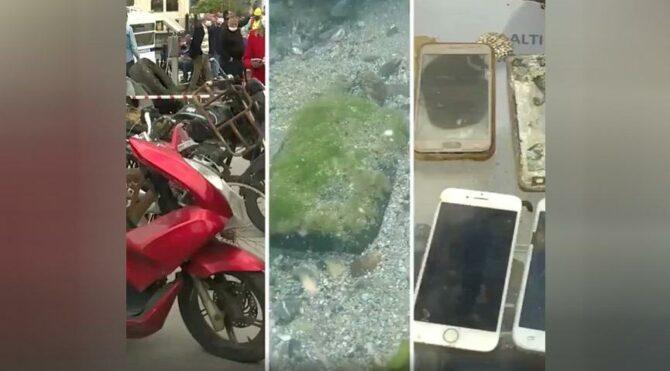 Kadıköy'de denizin altından çıkan atıklar şaşırttı: Motosiklet, bisiklet, elektrikli testere…