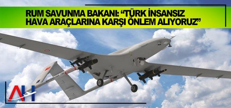 """Rum Savunma Bakanı: """"Türk insansız hava araçlarına karşı önlem alıyoruz"""""""